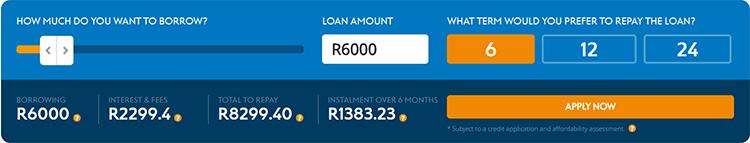 capfin loan calculator